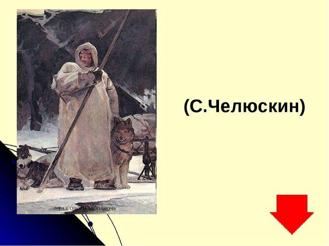 (С.Челюскин)