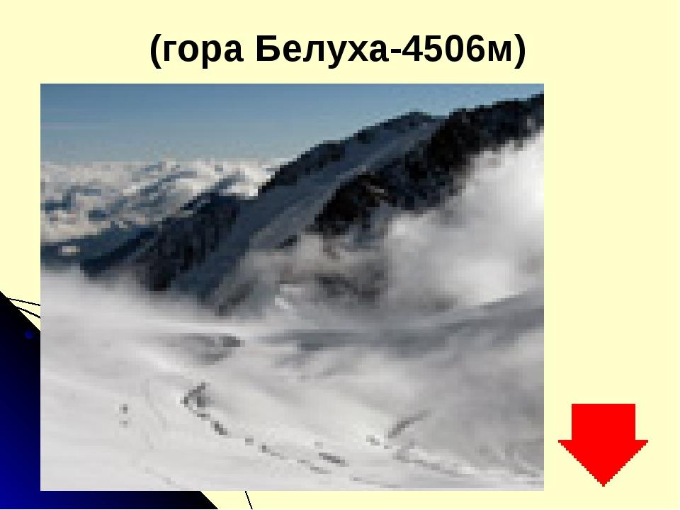 (гора Белуха-4506м)