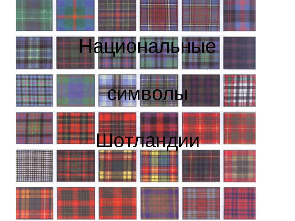 Национальные символы Шотландии