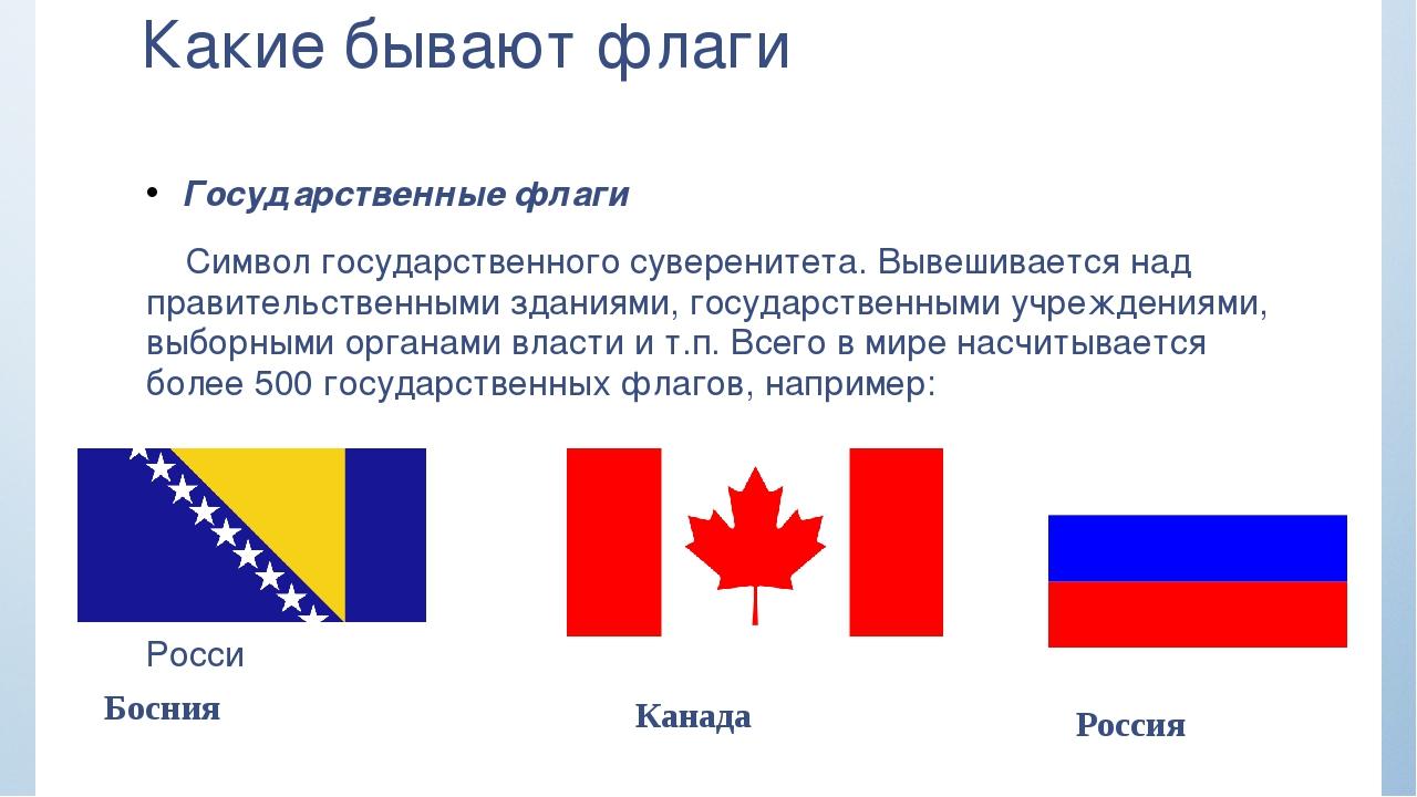 Какие бывают флаги Государственные флаги Символ государственного суверенитета...