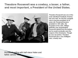 Theodore Roosevelt was one of the most well liked Presidents America has ever