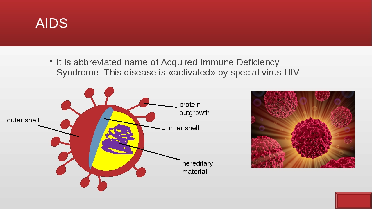the reality of acquired immune deficiency syndrom Hiv is a virus that attacks immune cells called cd-4 cells, which are a subset of t cells aids is the syndrome, which may or may not appear in the advanced stage of hiv infection hiv is a virus.