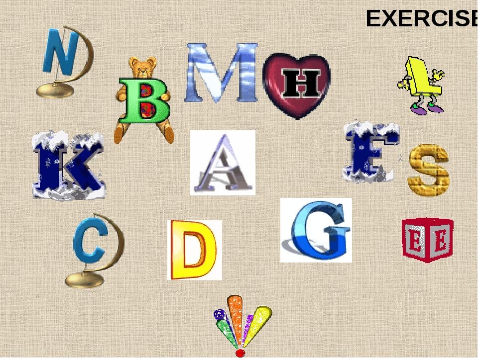 [b] [d] [g] [p] [t] [k] EXERCISES