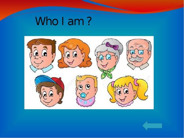 Who I am ?