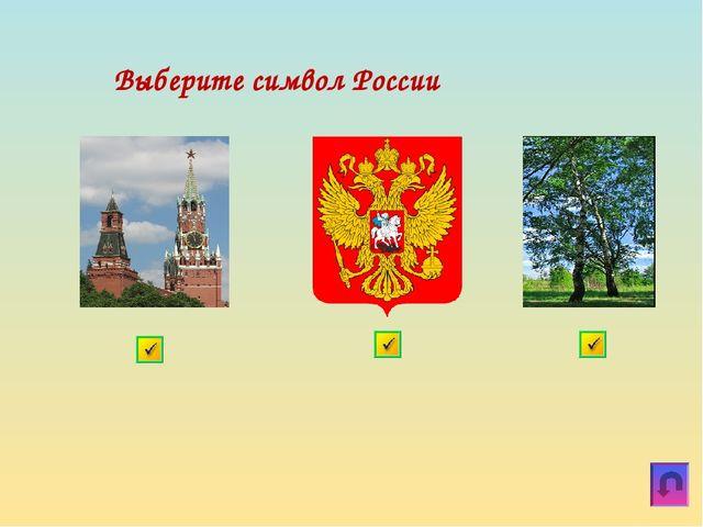 Выберите символ России