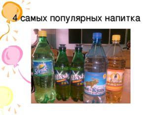 4 самых популярных напитка