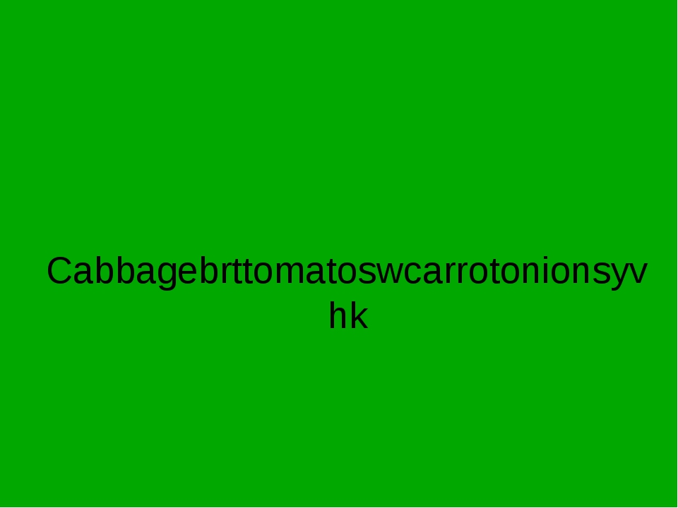 Cabbagebrttomatoswcarrotonionsyvhk