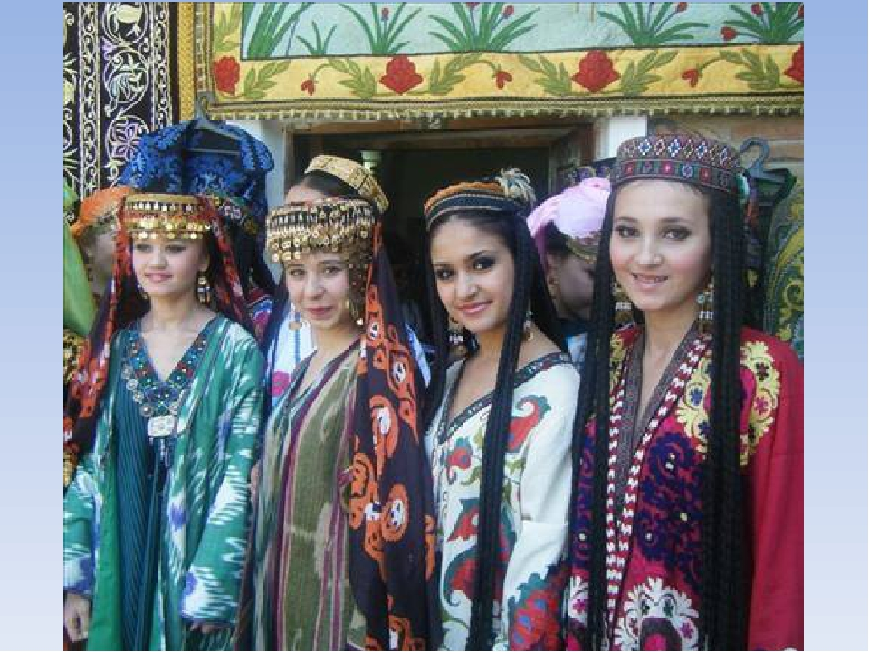 Женщины узбекистана одежда