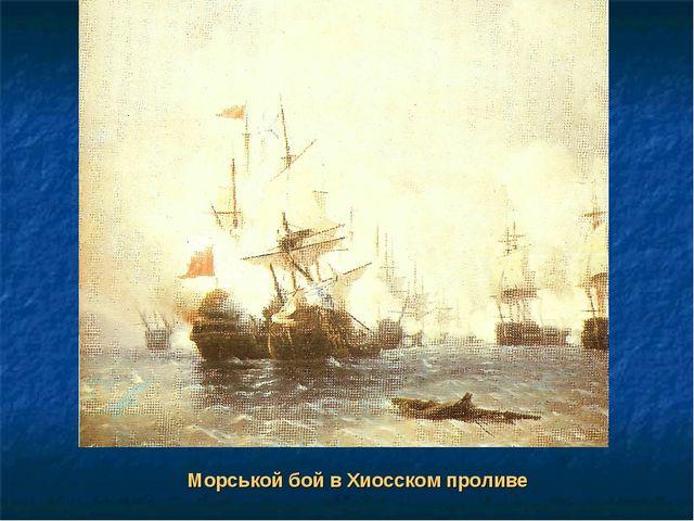 Морськой бой в Хиосском проливе