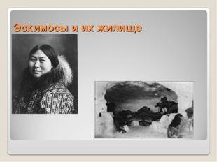 Эскимосы и их жилище