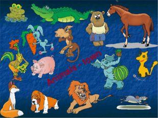 Animals - town