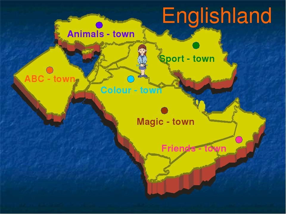 Englishland ABC - town Animals - town Colour - town Sport - town Magic - town...