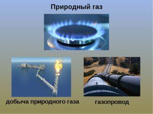 Природный газ добыча природного газа газопровод