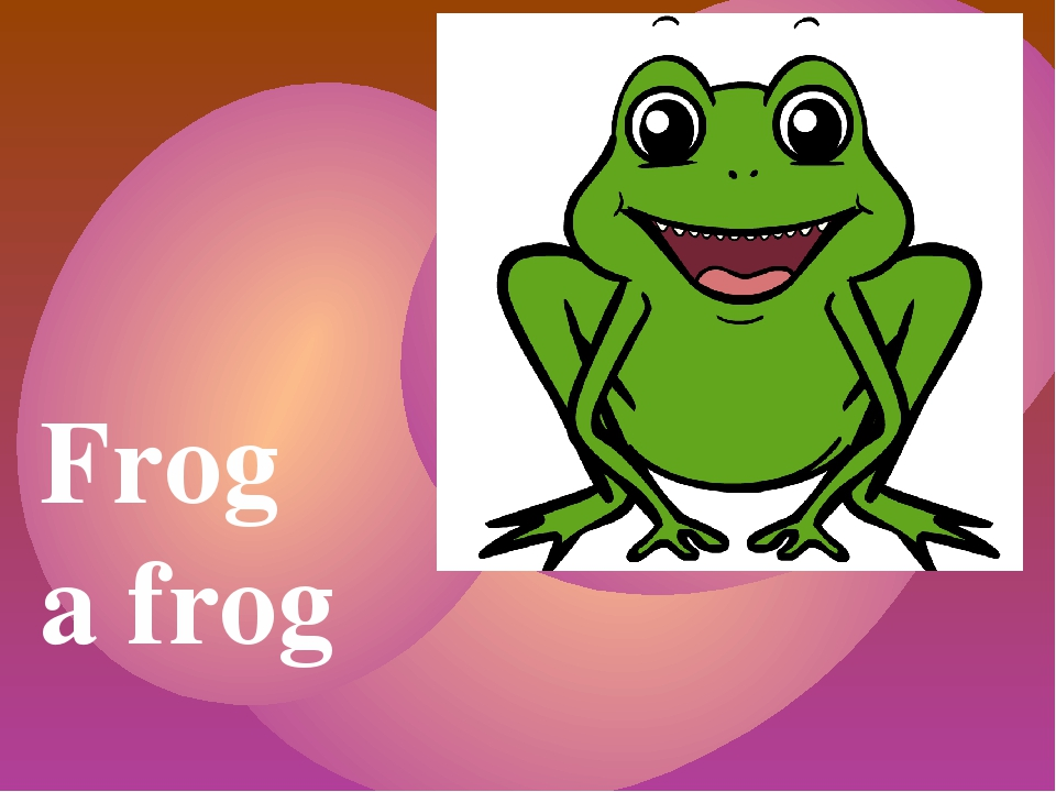 Frog a frog