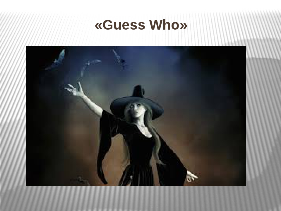 «Guess Who»