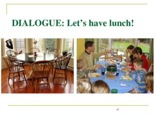 DIALOGUE: Let's have lunch! Kitchen table - http://styleandinterior.ru/wp-con