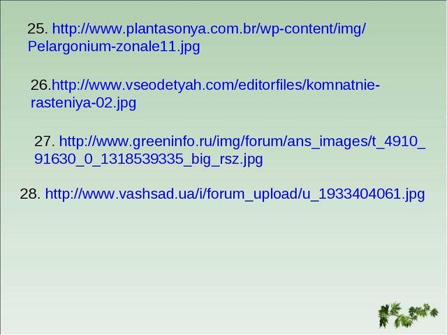 25. http://www.plantasonya.com.br/wp-content/img/ Pelargonium-zonale11.jpg 26...