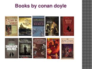 Books by conan doyle
