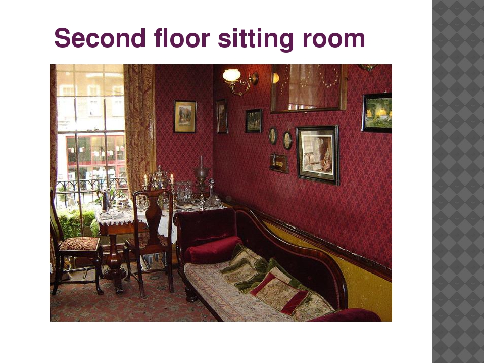 Second floor sitting room