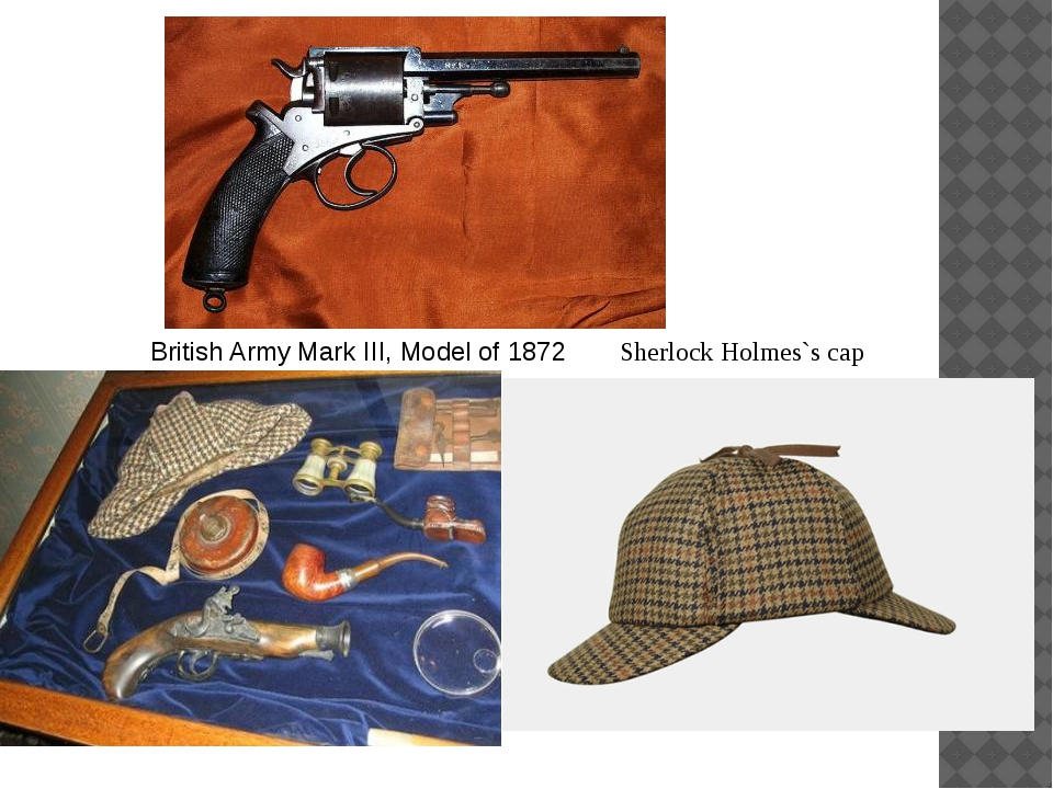 British Army Mark III, Model of 1872 Sherlock Holmes`s cap