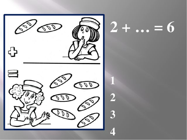 2 + … = 6 1 2 3 4
