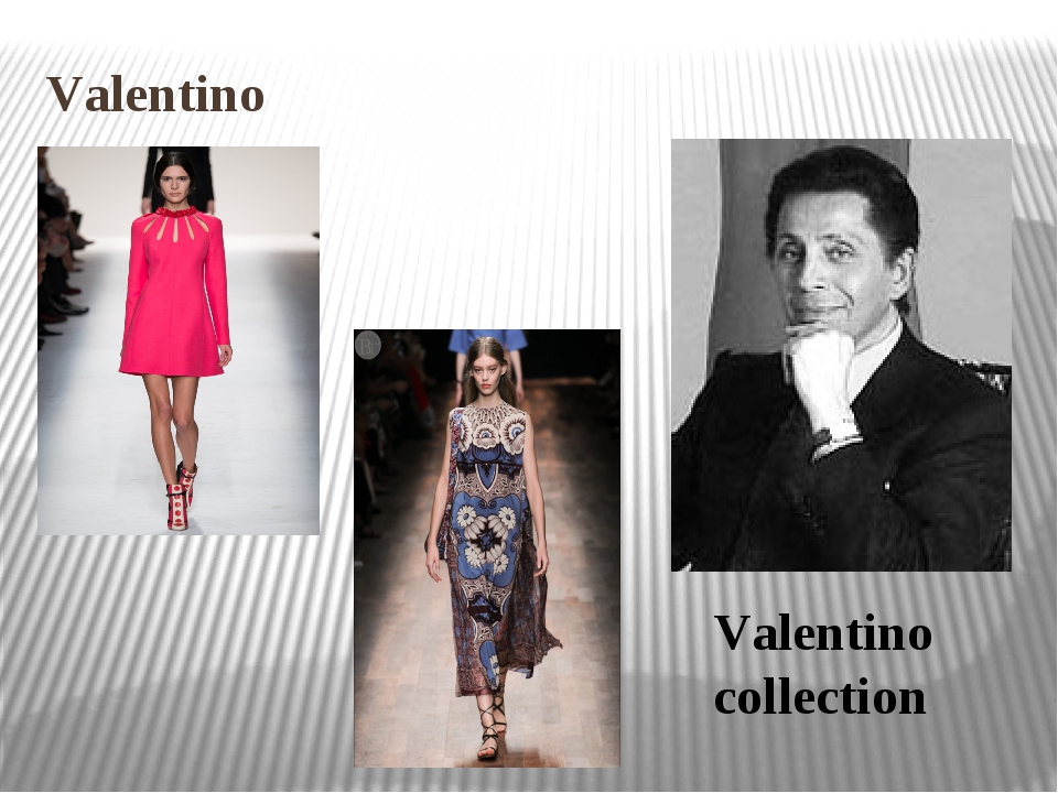 Valentino Valentino collection