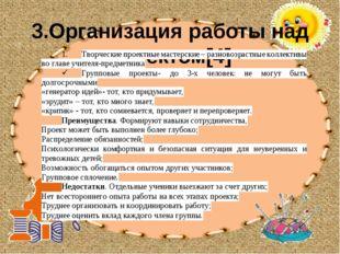 3.Организация работы над проектом[4]