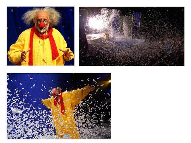 Вячеслава Полунина прозвали «снежным» клоуном, потому что он создал снежное т...