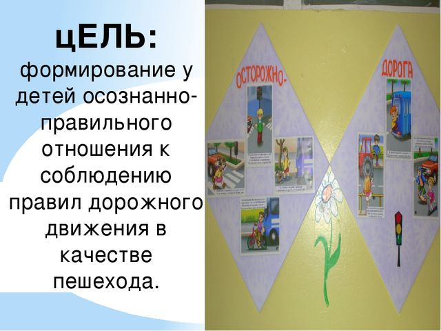 цЕЛЬ: формирование у детей осознанно-правильного отношения к соблюдению прави...