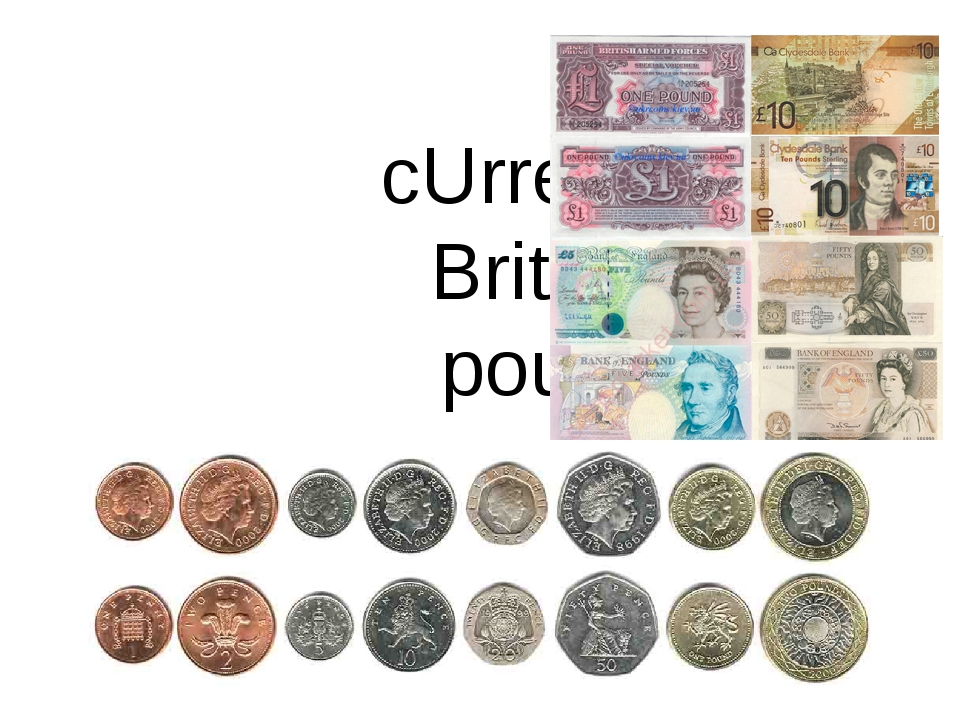 cUrrency: British pound