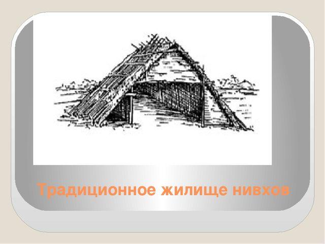 Традиционное жилище нивхов