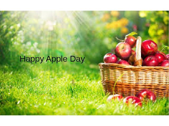 Happy Apple Day