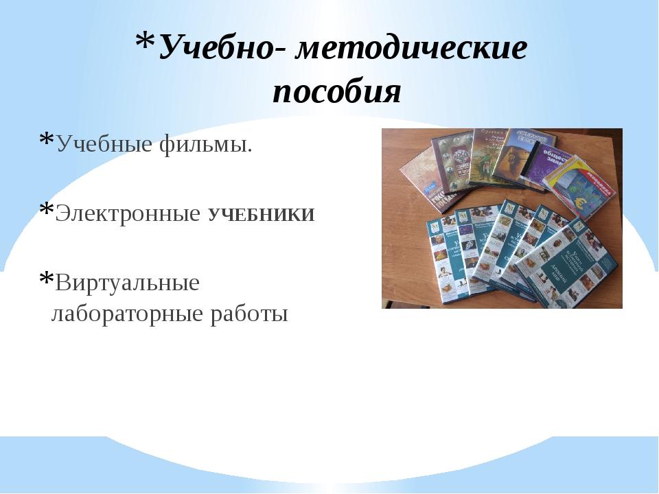 Учебные фильмы. Электронные УЧЕБНИКИ Виртуальные лабораторные работы Учебно-...