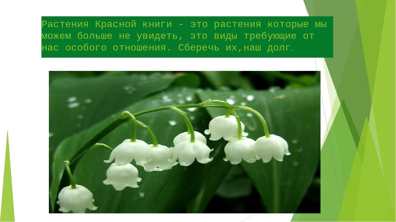 Растения Красной книги - это растения которые мы можем больше не увидеть, это...