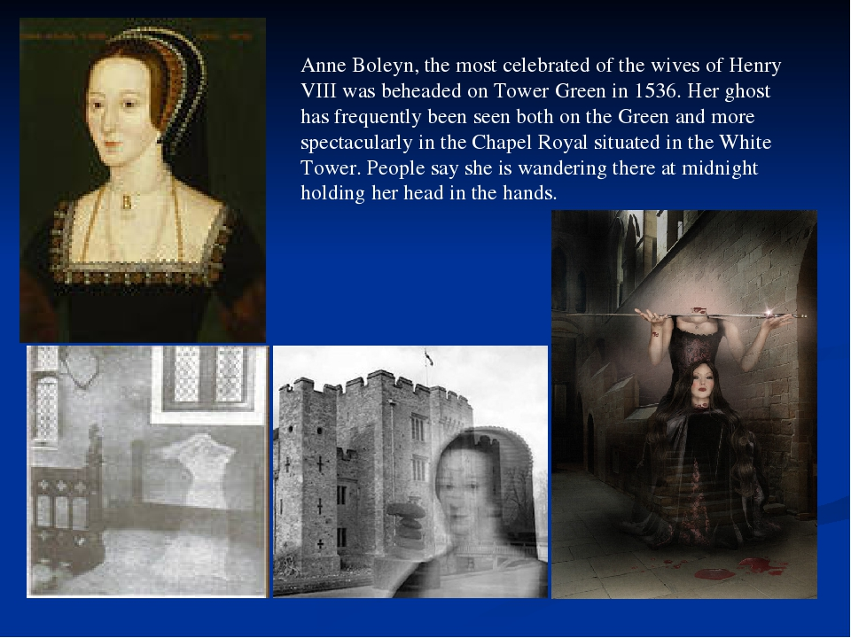 Anne Boleyn, the most celebrated of the wives of Henry VIII was beheaded on T...