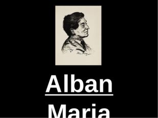 Alban Maria Johannes Berg was an Austrian composer.   He produced composition