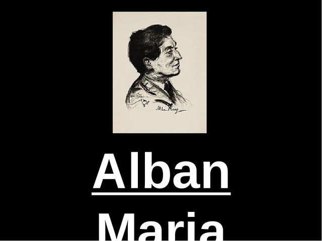 Alban Maria Johannes Berg was an Austrian composer.   He produced composition...