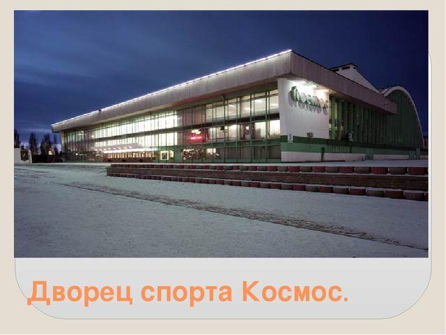 Дворец спорта Космос.