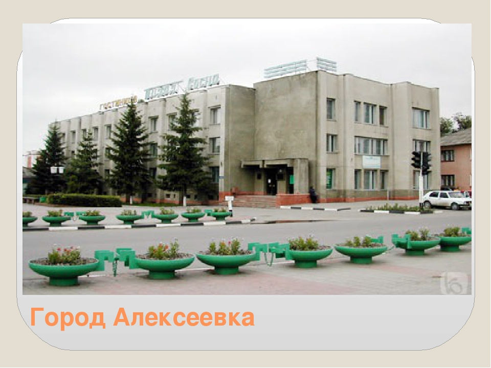 Город Алексеевка