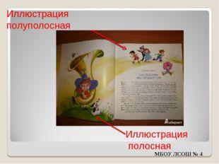 Иллюстрация полуполосная Иллюстрация полосная МБОУ ЛСОШ № 4