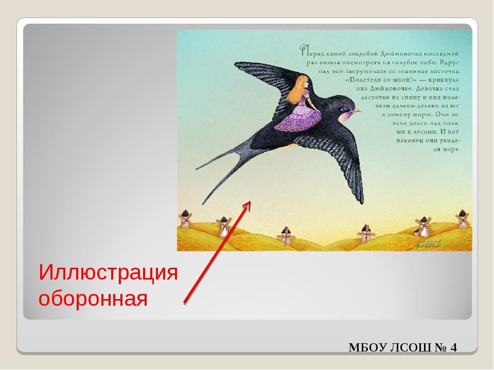 Иллюстрация оборонная МБОУ ЛСОШ № 4