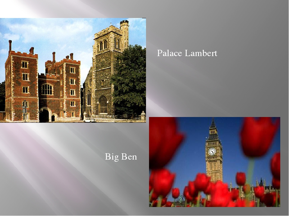 Palace Lambert Big Ben