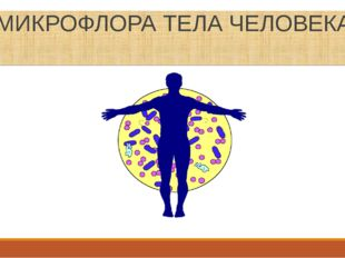 МИКРОФЛОРА ТЕЛА ЧЕЛОВЕКА