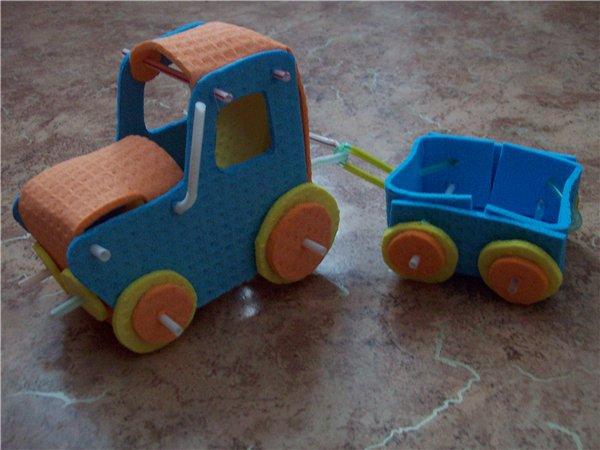 Поделки с детьми транспорт будущего 19