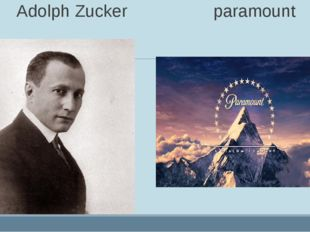 Adolph Zucker paramount