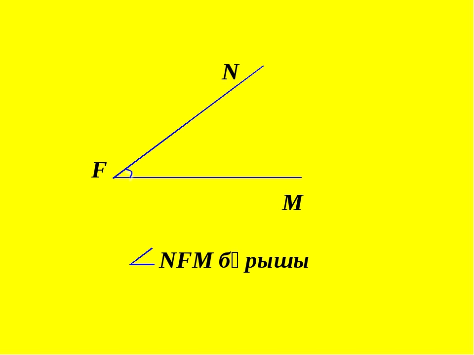 F N NFM бұрышы M