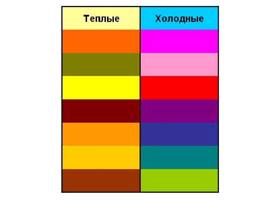 Картинки холодные цвета