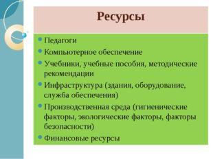 Ресурсы Педагоги Компьютерное обеспечение Учебники, учебные пособия, методиче