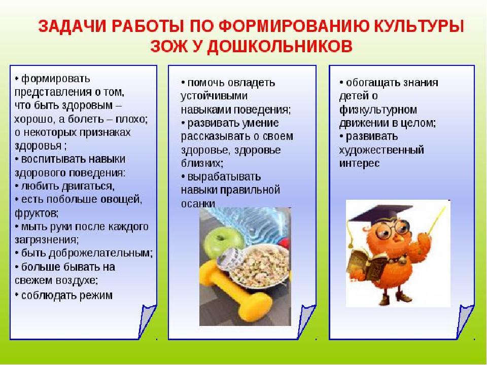 Цель: формирование, сохранение и укрепление здоровья детей, здорового образа...