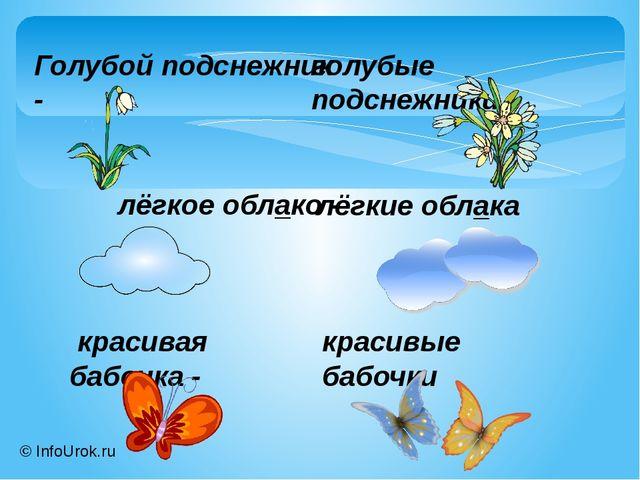 © InfoUrok.ru Голубой подснежник - голубые подснежники лёгкое облако - лёгкие...